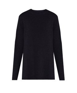 RAEY | Long-Line Fine-Knit Cashmere Sweater