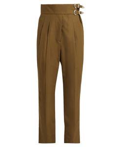 Toga | High-Rise Slim-Leg Trousers