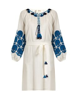 Figue | Coco Embroidered Cotton Dress