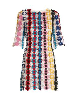 Mary Katrantzou | Lenax Guipure-Lace Mini Dress