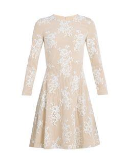 Huishan Zhang | Kiera Cotton-Blend Floral-Lace Dress