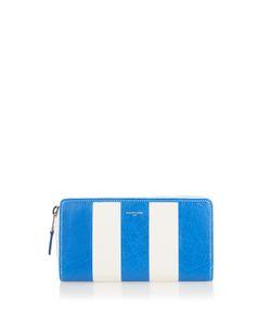Balenciaga | Bazar Zip-Around Leather Continental Wallet