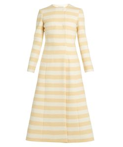 Emilia Wickstead | Dominique Striped Wool-Blend Coat