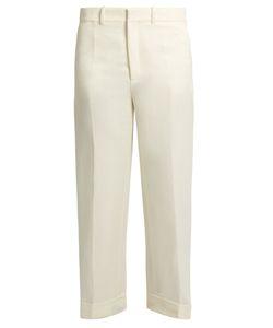 Chloé | Wide-Leg Linen And Silk-Blend Twill Trousers