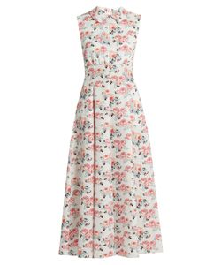 Emilia Wickstead | Fabiola Floral-Print Midi Dress