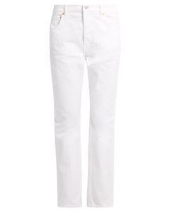 Balenciaga | Mid-Rise Straight-Leg Jeans