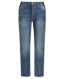 FRAME | Le Original Gusset Straight-Leg Jeans