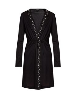 La Perla | Liaison Lace-Edge Cotton Robe