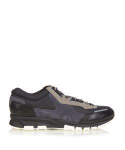 Lanvin | Running Contrast-Panelled Low-Top Trainers