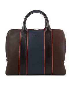 Paul Smith | Colour-Block Leather Piped Briefcase
