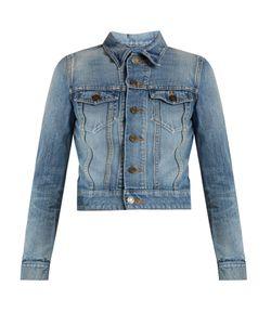 Saint Laurent | Love-Embroidered Jacket