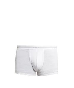 Paul Smith | Logo-Jacquard Cotton Boxer Trunks