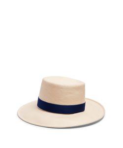 Gigi Burris Millinery | Allison Toyo Straw Boater Hat