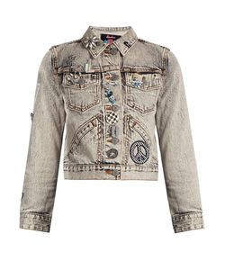 Marc Jacobs | Paradise-Embellished Denim Jacket