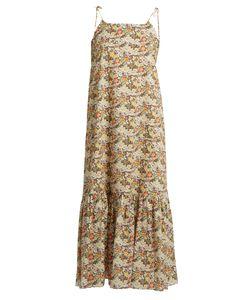 LOUP CHARMANT   Kalahair Floral-Print Cotton Maxi Dress