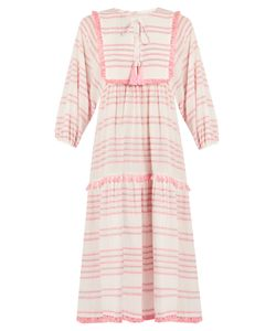 Zimmermann | Valour Striped Cotton-Blend Dress