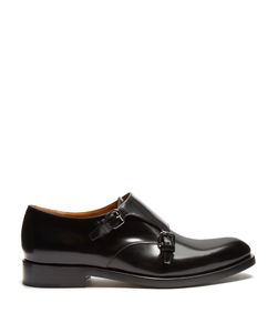 Valentino | Double Monk-Strap Leather Shoes