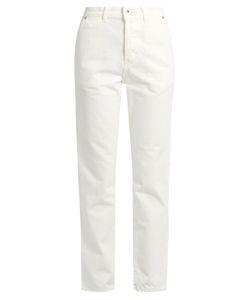 Muveil | High-Rise Slim-Leg Jeans