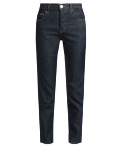 Current/Elliott | The Original Mid-Rise Straight-Leg Jeans