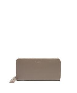 Saint Laurent | Grained-Leather Continental Wallet