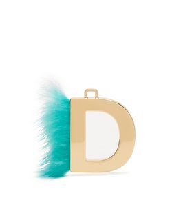 Fendi   Abclick Letter D Key Charm
