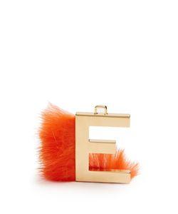 Fendi   Abclick Letter E Key Charm