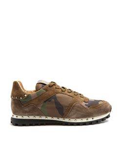 Valentino | Rockrunner Camouflage-Print Trainers
