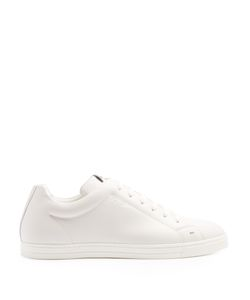 Fendi | Faces Low-Top Leather Trainers