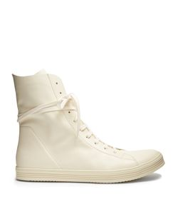 Rick Owens | High-Top Leather Trainers