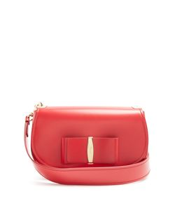 Salvatore Ferragamo | Anna Vara Leather Shoulder Bag
