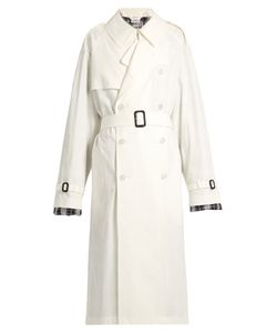 VETEMENTS | X Mackintosh Cotton Trench Coat
