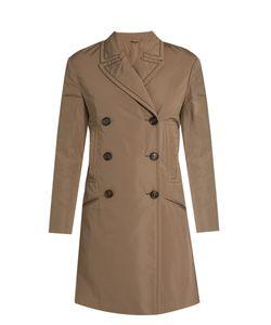 Brunello Cucinelli | Monili-Embellished Taffeta Trench Coat