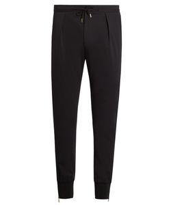 Paul Smith | Zip-Cuff Stretch-Wool Track Pants