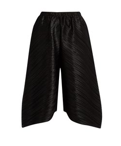 Pleats Please By Issey Miyake | Triangle-Cut Wide-Leg Trousers