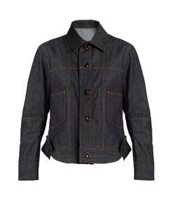 Yohji Yamamoto | Patch-Pocket Denim Jacket