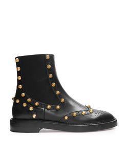 Balenciaga | Studded Brogue Chelsea Boots