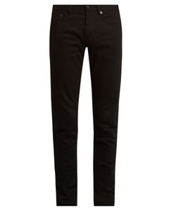 Givenchy | Star-Embroidered Slim-Leg Jeans