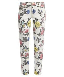 House Of Holland | Floral-Print High-Rise Skinny Jeans
