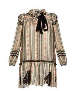 Marc Jacobs | -Print Embellished Cotton-Blend Gauze Dress