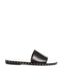 Valentino | Rockstud Leather Slides