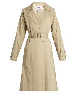 FRAME | Classic Cotton Trench Coat