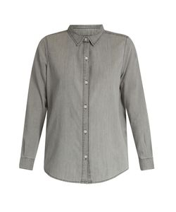 The Great | The Campus Cotton-Denim Shirt