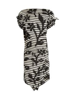 Vivienne Westwood Anglomania | Shore Striped Floral-Print Jersey Dress