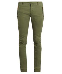 Balmain | Zip-Detail Skinny-Fit Jeans