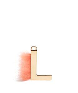 Fendi   Abclick Letter L Key Charm