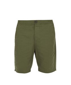 Oliver Spencer | Straight-Leg Cotton-Canvas Shorts