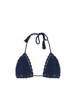 Anna Kosturova | Sliding Crochet Triangle Bikini Top