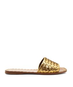 BOTTEGA VENETA | Intrecciato Leather Slides