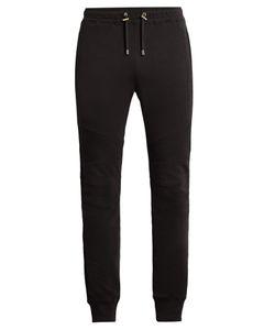 Balmain | Biker Cotton Track Pants