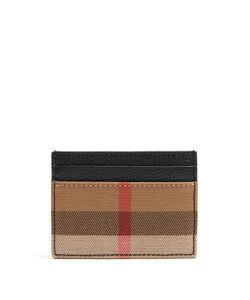 Burberry | Sandon Grained-Leather Cardholder